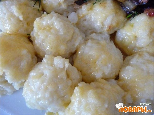 Рецепт Картофельные кнедлики