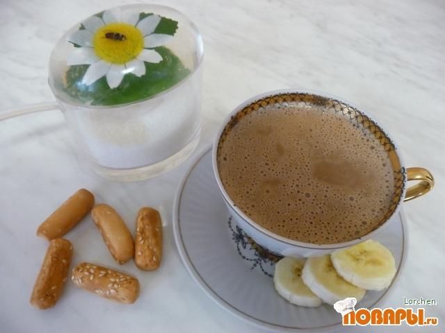 """Рецепт Кофейно-шоколадный напиток """"Банано"""""""
