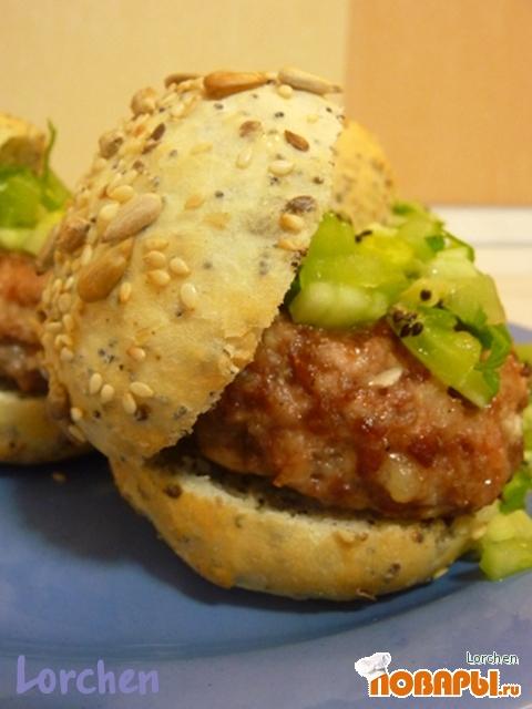 Рецепт Бутерброд с сальсой из киви