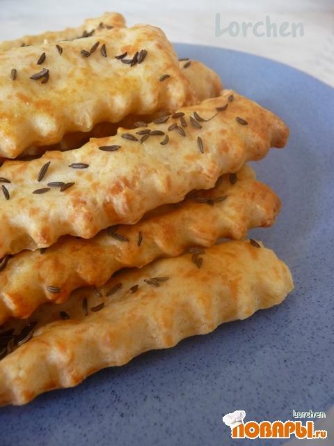 Рецепт Соленые палочки из картофеля