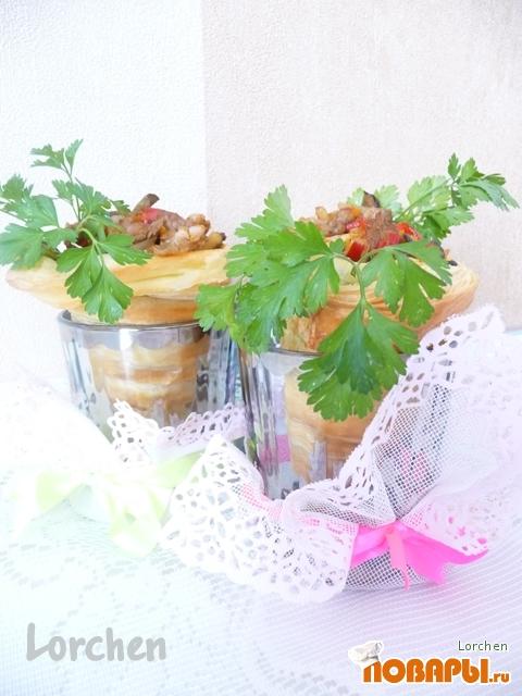 Рецепт Трубочки с начинкой или В нашей хате гостям рады!