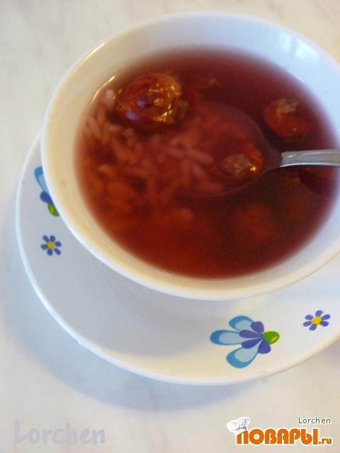 """Рецепт """"Вишневый суп для худеющих особ"""""""