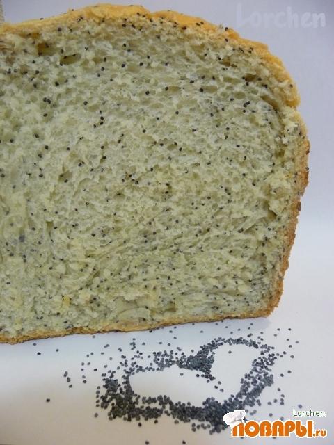 Рецепт Хлеб с маком - 2 (рецепт для ХП)