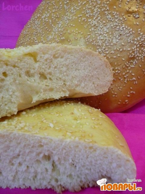 "Рецепт Турецкий хлеб - ""Ramazan Pidesi"""