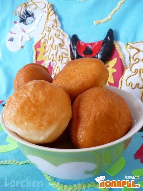 Рецепт Казахский хлеб - баурсаки