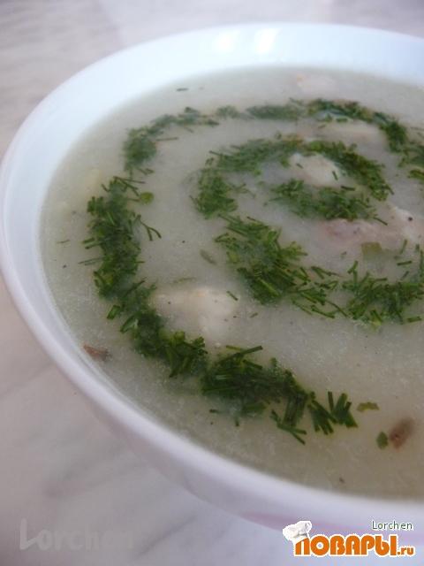 """Рецепт """"Картофельный суп по-саксонски"""""""