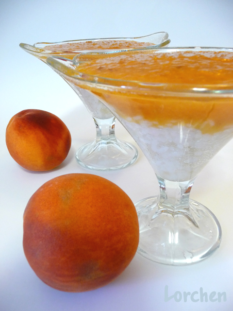 Рецепт Персиковый суп-пюре