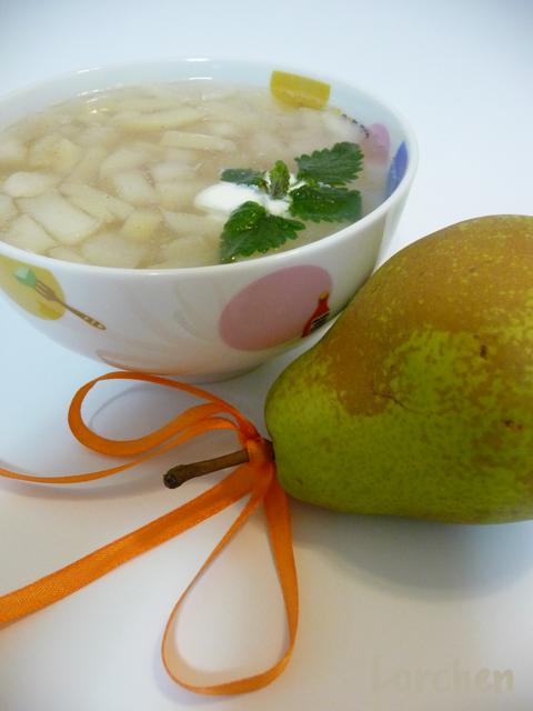 Рецепт Грушево-яблочный суп