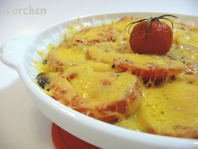 Рецепт Грибы, запеченные с помидорами