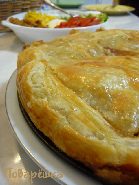Рецепт Мясной пирог по-турецки