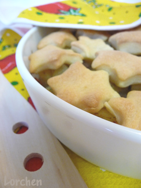 Рецепт Кобблер из свинины с картошкой