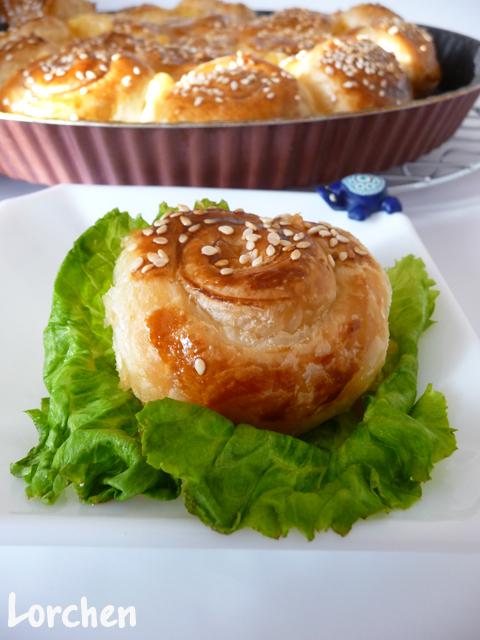Рецепт Gül Börek или Пирог - роза
