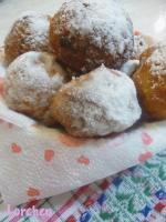 Пончики яблочные
