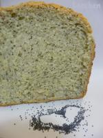 Хлеб с маком - 2 (рецепт для ХП)