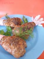 Куриные ножки, фаршированные кедровыми орешками