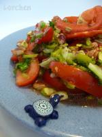 Салат с помидорами по-турецки