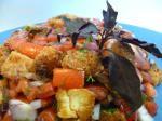 PANZANELLA - тосканский хлебный салат с помидорами