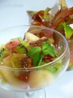 Салат из груши и киви