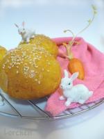 Морковные булочки