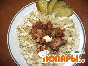 """Рецепт """"Веселенькая"""" курочка"""