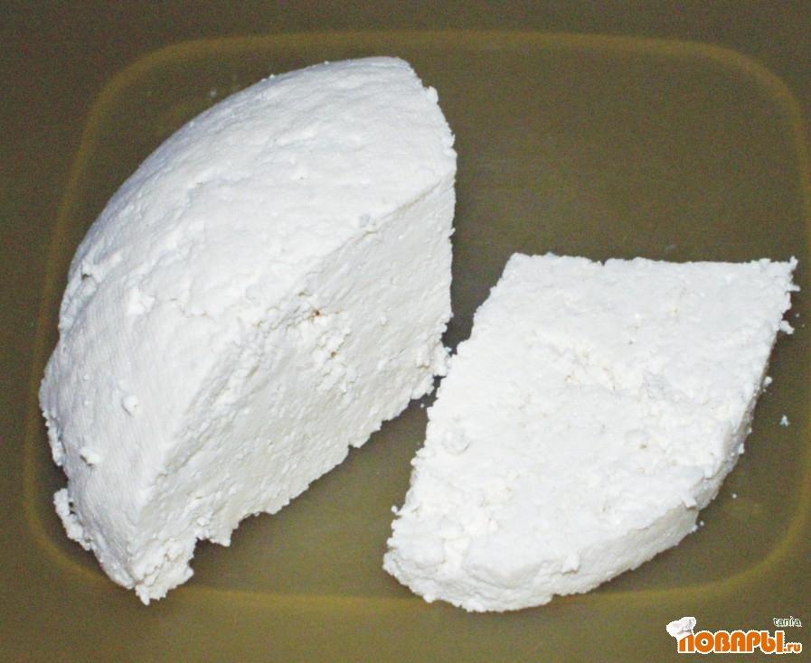 Рецепт Домашний соевый сыр