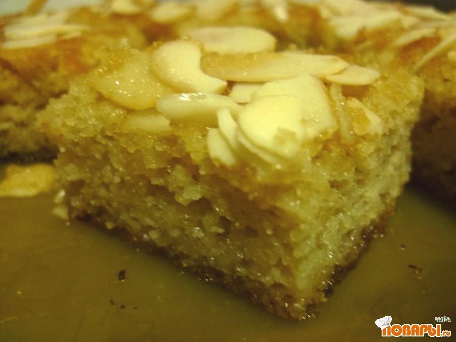 Рецепт Кокосовый бисквит без муки