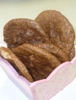 Воздушное шоколадное печенье.