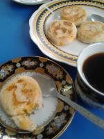 Тортильяс де мотэ кон кэсо (тортильяс из кукурузы с сыром)