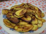 Жареные бананы (платано)
