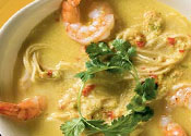 Рецепт Суп с вермишелью и креветками
