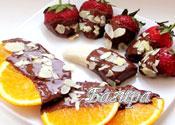Рецепт Фрукты в шоколаде