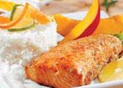 Рецепт Морской лосось с манговым чатни