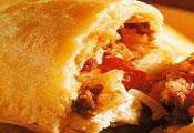 Рецепт Пирожки из полуслоеного теста