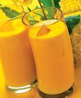 Рецепт Апельсиново-персиковый коктейль
