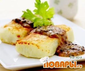 Рецепт Картофельные зразы с грибами и луком