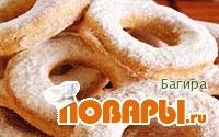 Рецепт Хрупкое снежное печенье