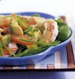Рисовый салат с авакадо