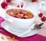 Черешневый суп с красным вином