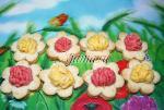"""Печенье """"Весенние цветы"""""""