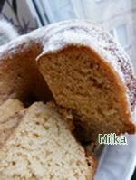 Рецепт Песочный кекс со сгущенкой