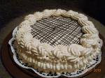 Нежный шоколадно-кофейный тортик
