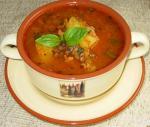 Согревающий чечевичный суп