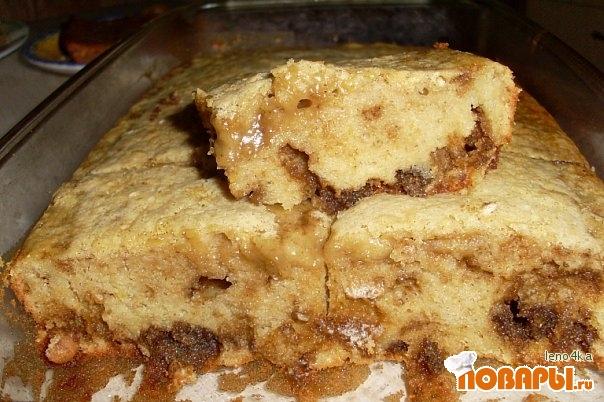 Рецепт Пирог с халвой