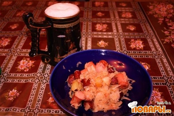 Рецепт Капуста по Баварски