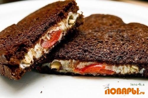 Рецепт Бутербродик на завтрак