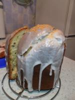 Кулич в хлебопечке. В глазури.