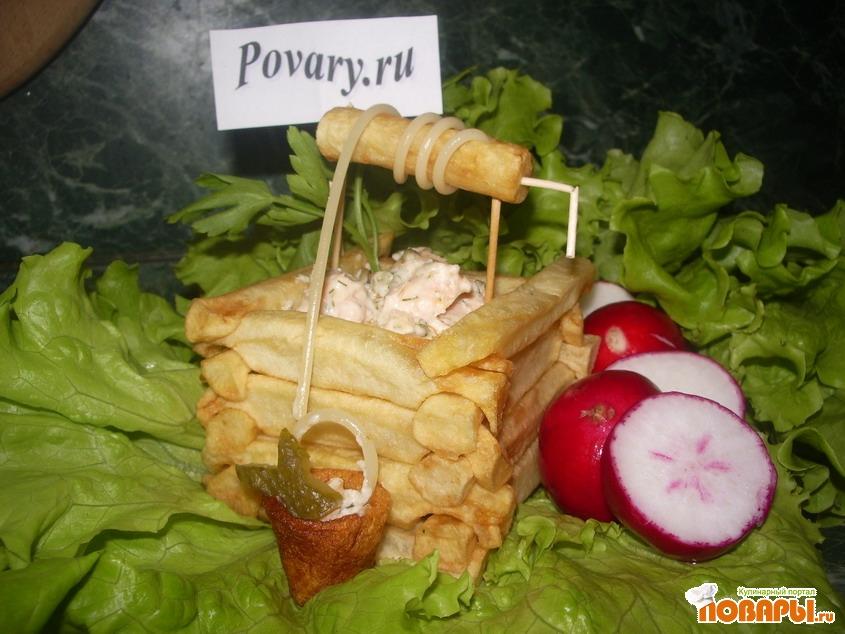 Рецепт Картофельный колодец