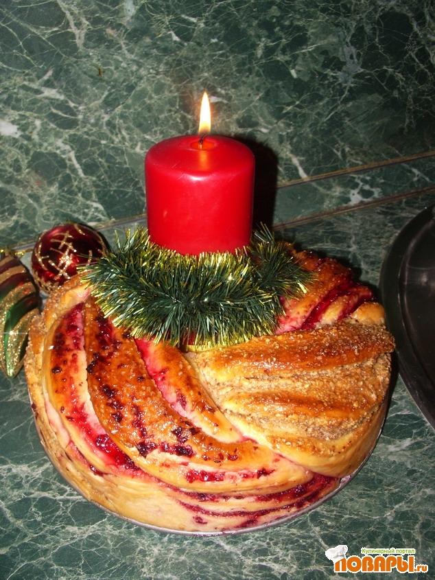 Рецепт Рождественский венок