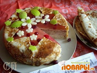 """Рецепт Пирог """"Масленица"""""""