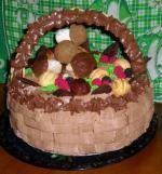 Торт-корзина